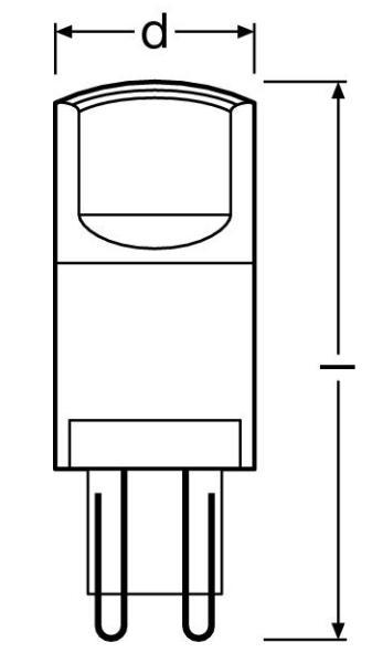 led pin rl pin40 827 c g9. Black Bedroom Furniture Sets. Home Design Ideas